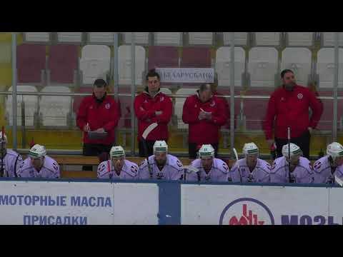 2018 02 11 Молодечно Неман 2 1 булл голы