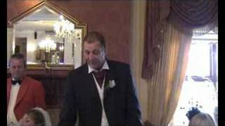funny fathers wedding speech