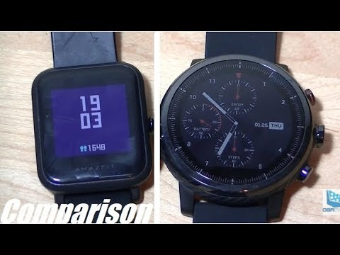 Comparison: Amazfit Bip vs. Stratos (Pace 2) Smartwatch