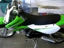 My new 2008 KLX110 Kawasaki motorcycle Video