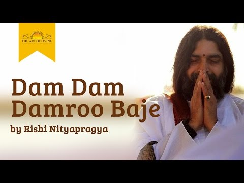Dam Dam Damroo Baje - Shiva Bhajan By Rishi Nityapragya video