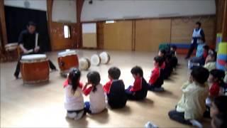 2014/4/16 年長とり和太鼓教室
