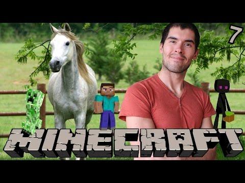 MI PROPIO CABALLO   Minecraft   Parte 7 - JuegaGerman