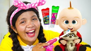 Brush Your Teeth Song Nursery Rhymes for Kids #5