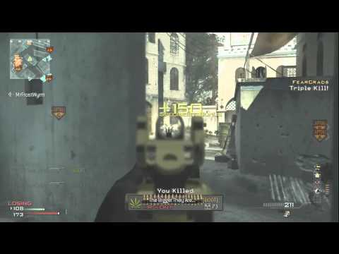 MW3: 90 Second ACR MOAB - Against Clan