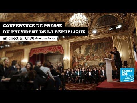 Conférence de presse du Président de la République François Hollande du 14/01/2014