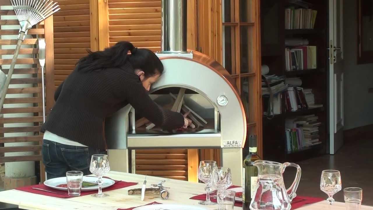 Come si usa forno a legna 5 minuti di alfa pizza youtube - Si usa per cucinare 94 ...