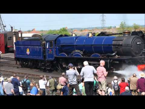 this years video is here: http://www.youtube.com/watch?v=6YjyZrDsfXc Train Spotting 2011 some short videos from this year including 6024 6023 70000 71000 448...