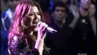 Watch Kelly Clarkson Without You american Idol Aug 27 video