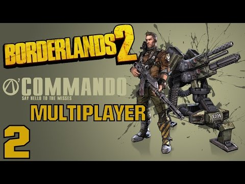 "Borderlands 2 Multiplayer Gameplay / Let's Play (S-2) -Part 2- ""Bad Hair Day"""