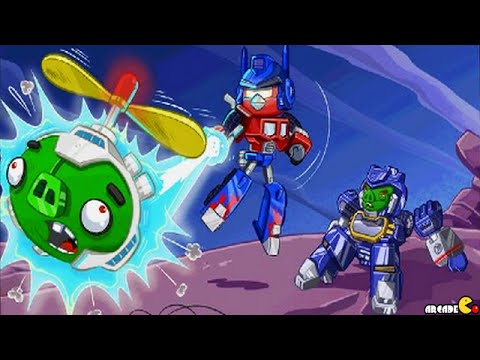 Angry Birds Transformers: All Auto Birds Max Level Gameplay Part 76