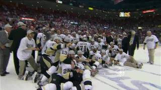 Stanley Cup Finals 2009 Game 7 - Pens @ Wings  + some Postgame