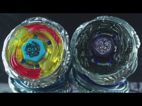 Beyblade Diablo Nemesis X:D (Hasbro VS Takara Tomy) The Difference HD! AWESOME