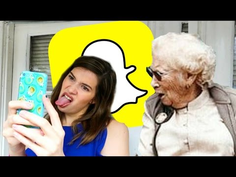AWKWARD MOMENTS THAT HAPPEN ON SNAPCHAT!