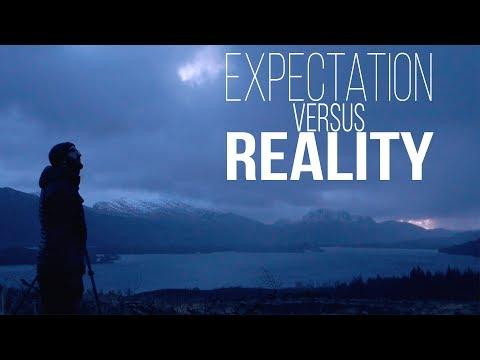 Landscape Photography Scotland - Expectation Vs Reality