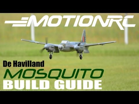 MotionRC / FREEWING de Havilland MOSQUITO Build Guide By: RCINFORMER