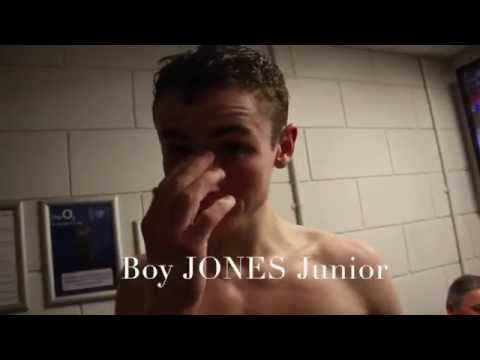 BOY JONES JUNIOR MAKES HIS PROFESSIONAL DEBUT   POST FIGHT INTERVIEW