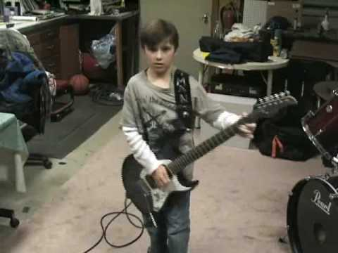 9 Year Old Guitarist - Blues Jam Music Videos
