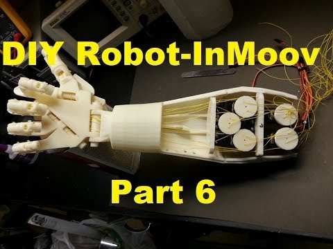 InMoov 3D Printed Humanoid Robot Build- Part 6