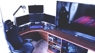 THE ULTIMATE YOUTUBER GAMING SETUP TOUR!! (2016)