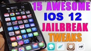 TOP 15 iOS 12 Jailbreak Tweaks
