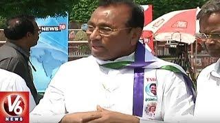 YCP MPs Mekapati Rajamohan Reddy, Vijay Sai Reddy Criticizes CM Chandrababu | AP Special Status