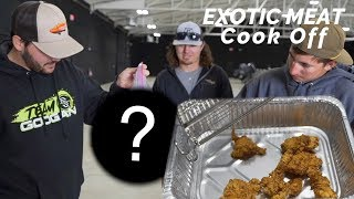 EXOTIC meat COOK OFF challenge