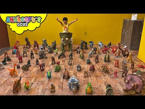 A DINOSAUR CHRISTMAS Special - Thank you from Skyheart Toys dinosaurs for kids