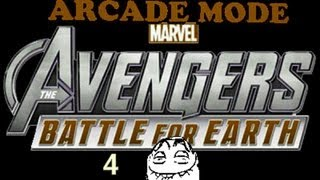 Marvel Avengers: Battle for Earth -Kinect Arcade Playthrough pt 4