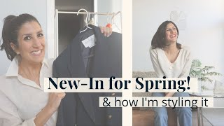 New-In Spring Items & How I'm Styling Them   AD   Slow Fashion