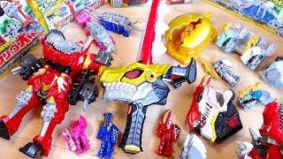明日放送開始!騎士竜戦隊リュウソウジャーのDX玩具を全部一気に開封レビュー!リュウソウチェンジャー・キシリュウオー・リュウソウケン・ティラミーゴ・リュウソウル01