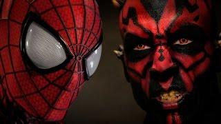 SPIDER-MAN vs DARTH MAUL - Super Power Beat Down (Episode 17)