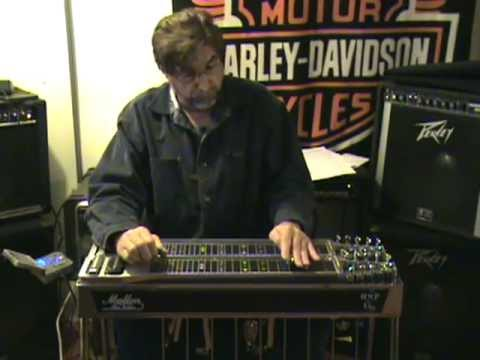 Mike Wilson Playing Steel Guitar Kindly Keep It Country.mpg