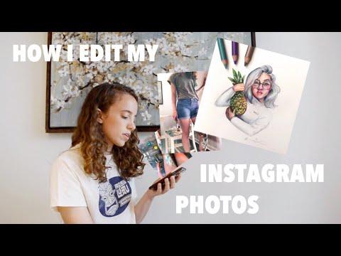 How I Edit My INSTAGRAM Photos | Art Instagrammer