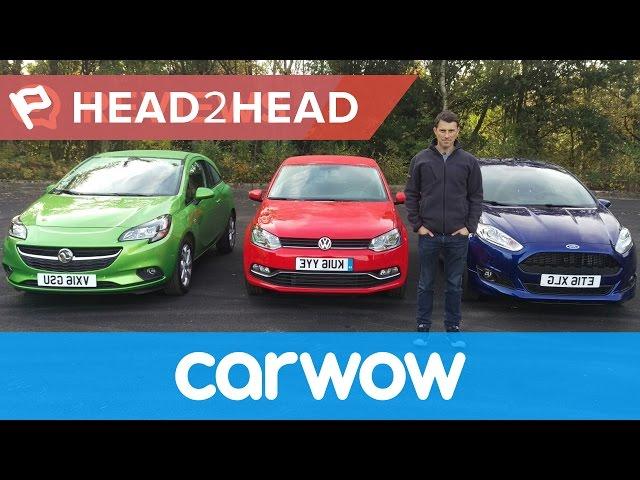 Ford Fiesta vs Volkswagen Polo vs Vauxhall Corsa 2016 ...