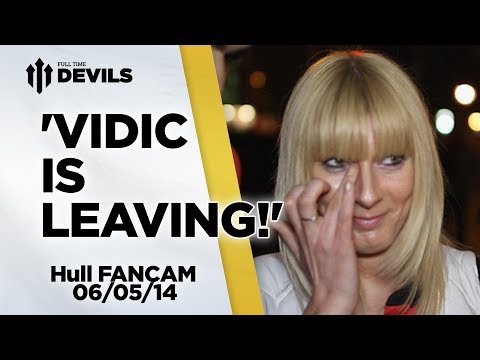 'Vidic Is Leaving' | Manchester United 3-1 Hull | FANCAM