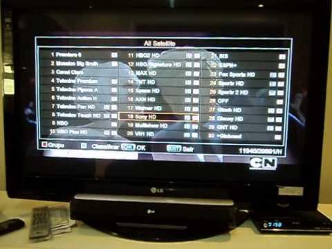 Configurar CS Skybox F3 Full HD Grade Completa de Canais!!