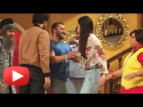 Salman Khan's Cute Surprise For Katrina Kaif | Comedy Nights Live