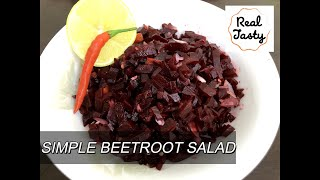 Grandma's Style Healthy Beetroot Salad