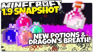 "Minecraft 1.9 Snapshot | NEW ""Lingering Potion"", Dragon Breath, & More! (Minecraft 1.9 News)"