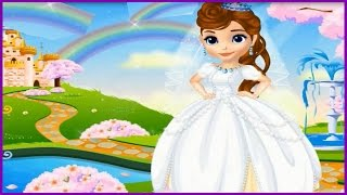 Amazing Princess Sofia Fairytale Wedding Video Episode-Fun Dress Up Games