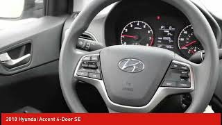 2018 Hyundai Accent 4-Door Schlossmann Honda City Inventory 7589P