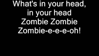 Cranberries Zombie  lyrics