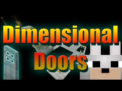 Minecraft Mods - Dimensional Doors 1.4.7 (WIP) Review and Tutorial - Amazing Mod!