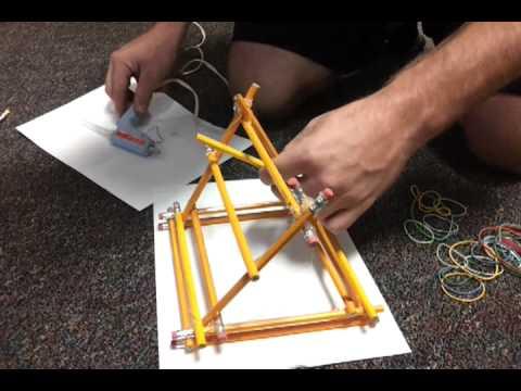 Pencil Trebuchet Instructions