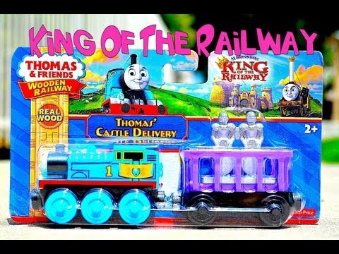 Thomas The Tank Engine And Friends Wooden - Thomas' Castle Delivery King Of The Railway Toy Train