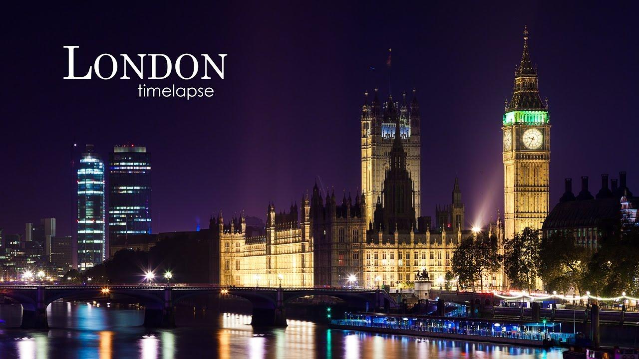 London time-lapse (2013) - YouTube