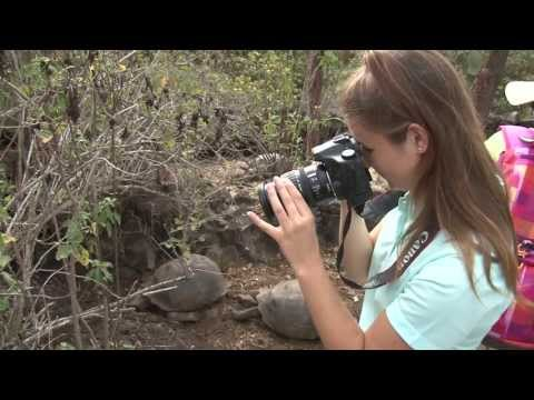 2012 Google Global Science Fair Winner Brittany Wenger Travels to the Galápagos