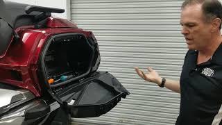 How to Fix Defective Left Saddlebag Door - 2018+ Honda GoldWing