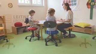 Video Kindergarten ErzieherInnenstuhl Kinderstuhl LeitnerTwist KIGA